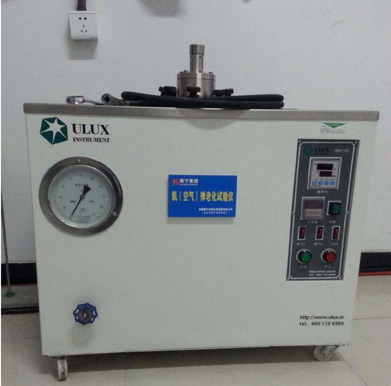 Oxygen (air) bomb aging tester