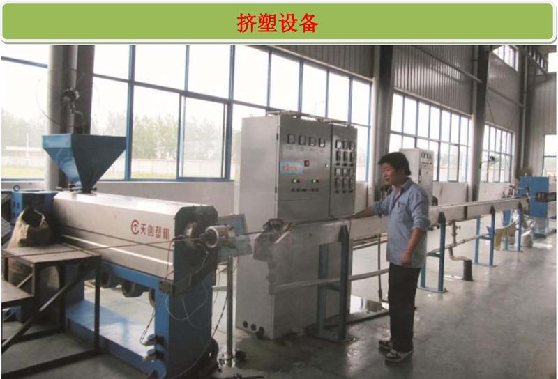 Extrusion equipment